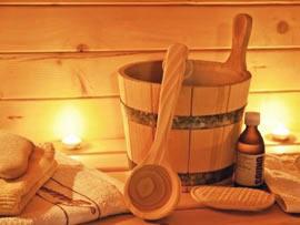 Zubehör für die Sauna